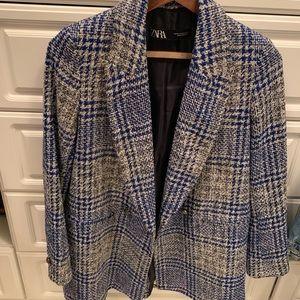 Zara Tweed Coat last season size medium